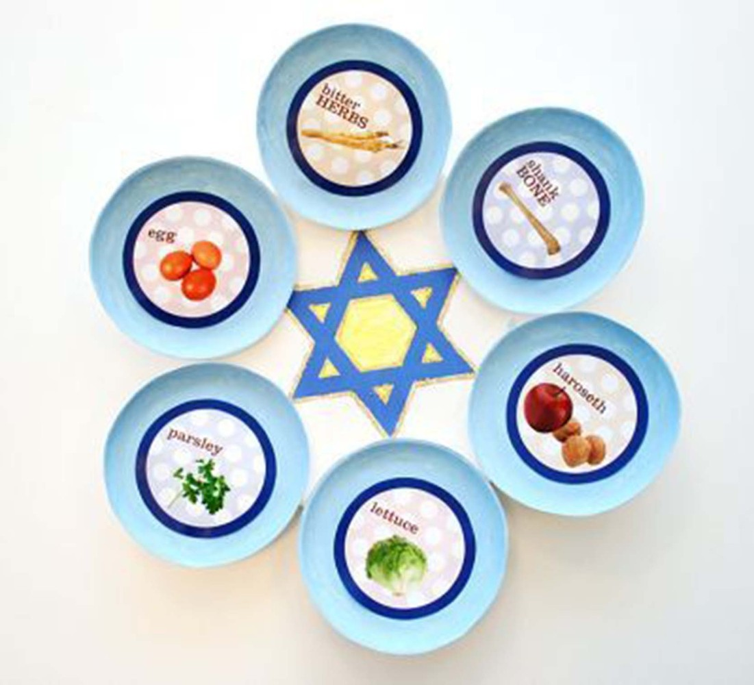 15 Diy Passover Seder Plates Your Kids Will Love To Make