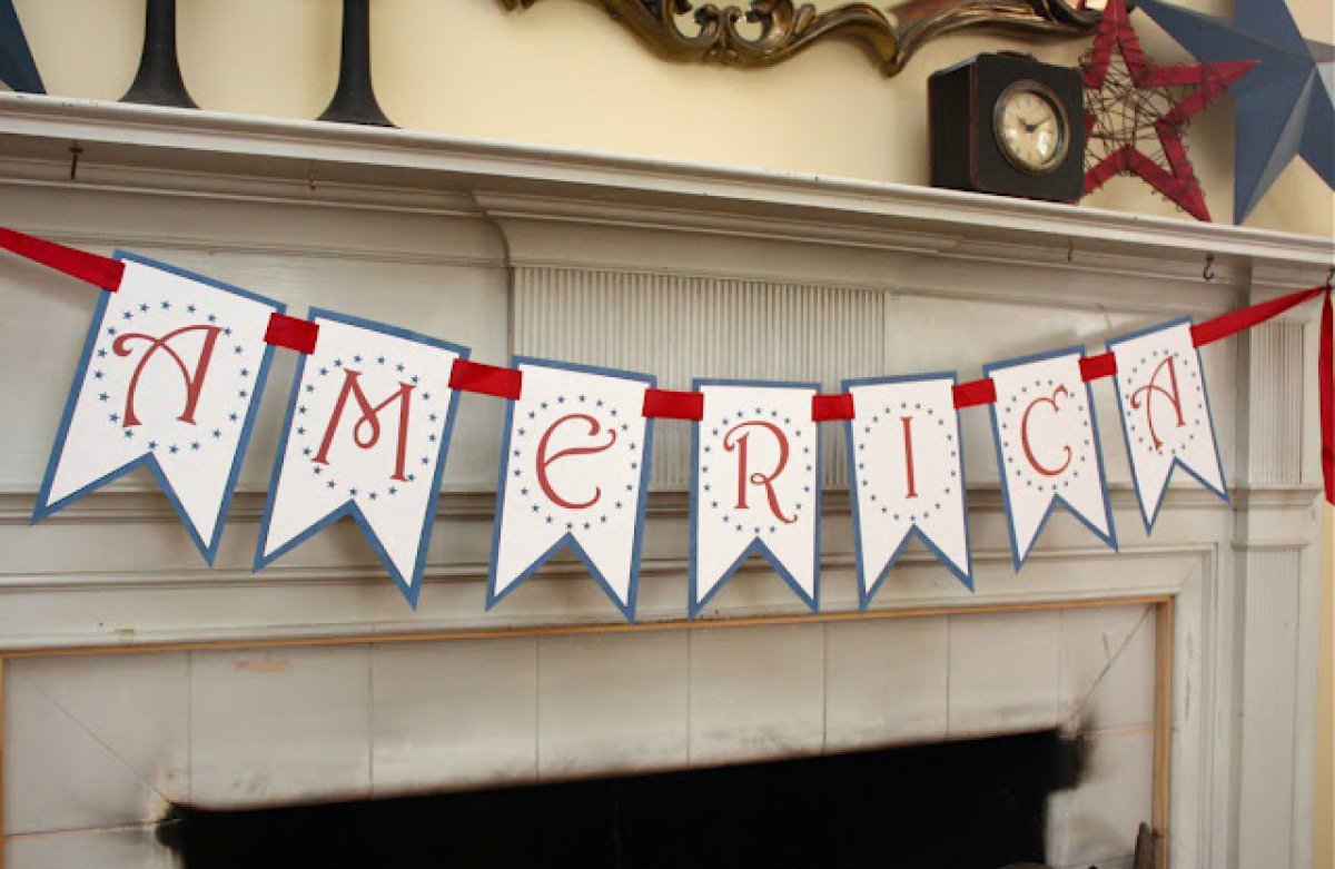 10 Free Printables For Your 4th Of July Party