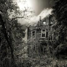 Broken Creepy Haunted House