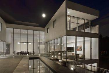 mansion modern inside hinsdale interior luxury suburban minimal huffpost