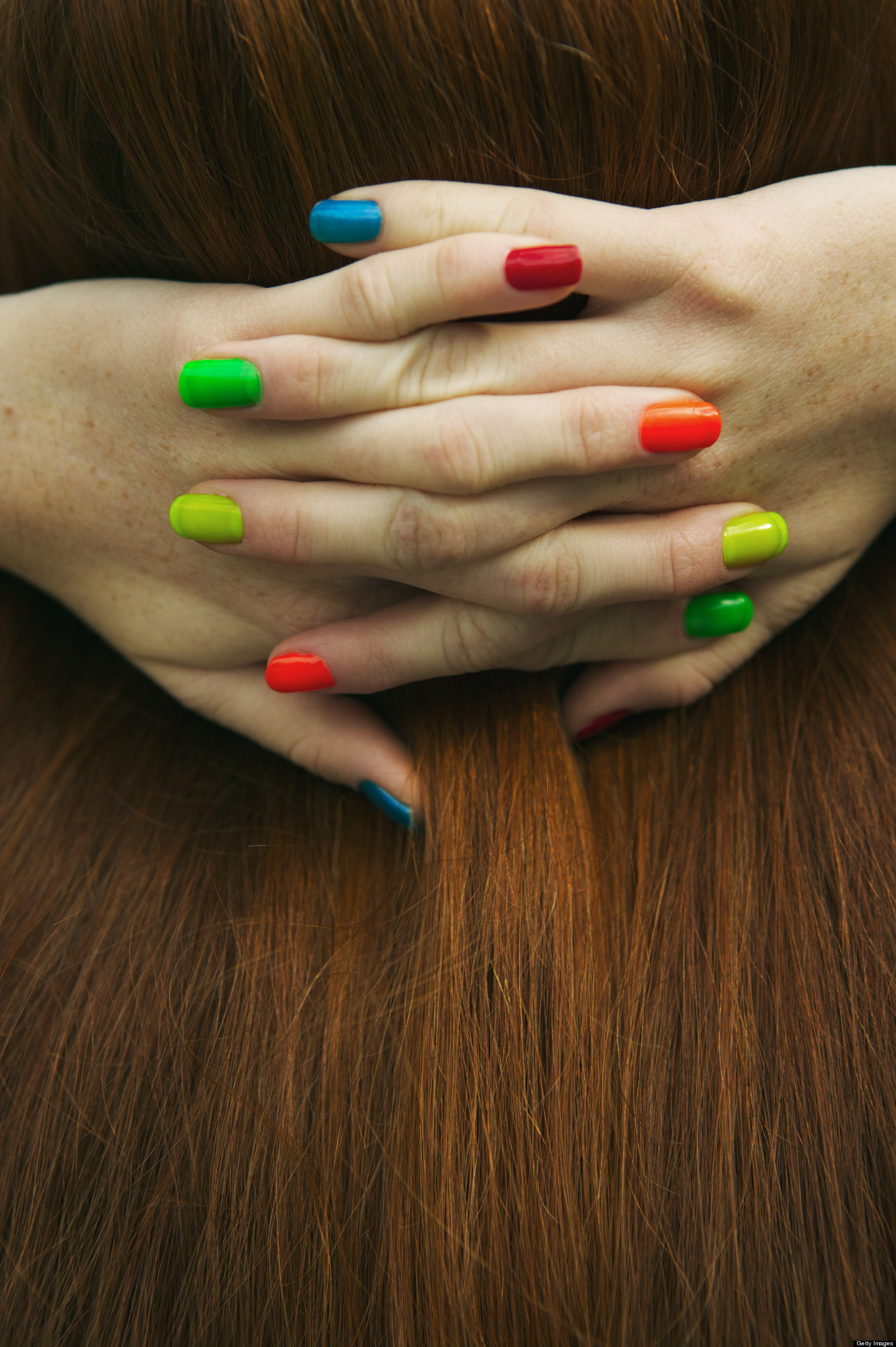 Multi Colored Nails Saving Grace Or Trendy Waste Huffpost