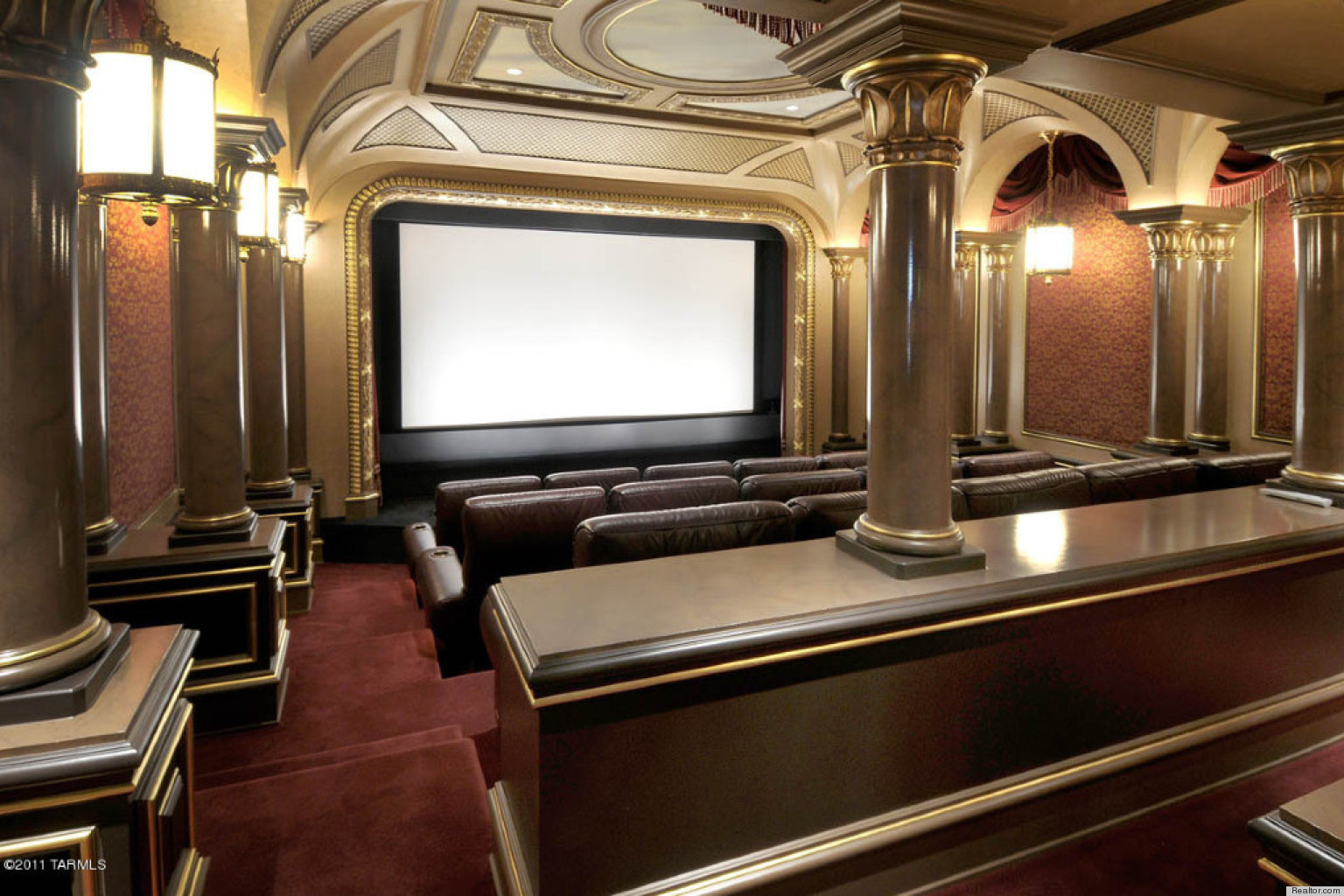 movie theaters with lounge chairs diy removable chair covers 10 stunning home that will put your local multiplex to shame (photos) | huffpost
