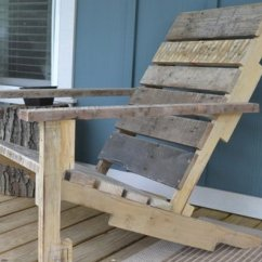 How To Make A Wooden Beach Chair Bedroom Floral Build Your Own Deck From Pallet For 10 Huffpost