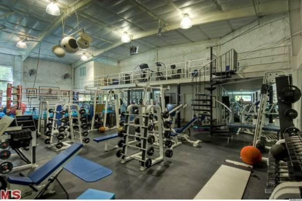 Mark Wahlberg' House Unbelievable Home Gym