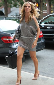 Heidi Klum' Minidress Shorter