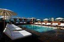 Hotel Pools In La Art Form