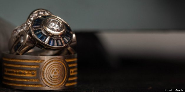Star Wars Wedding Ring Is Inspired By C 3PO PHOTOS
