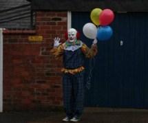 Northampton Clown Terrorizes English Town Standing