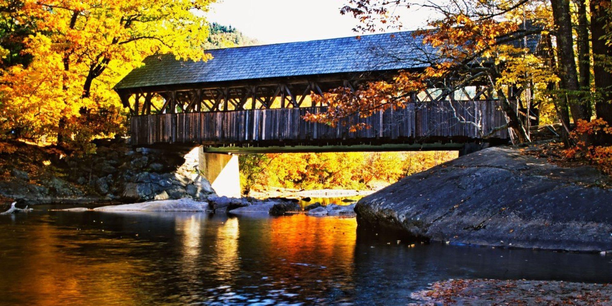 Fall Turkey Wallpaper America S Most Beautiful Covered Bridges Huffpost