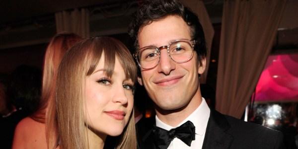 Andy Samberg and Wife