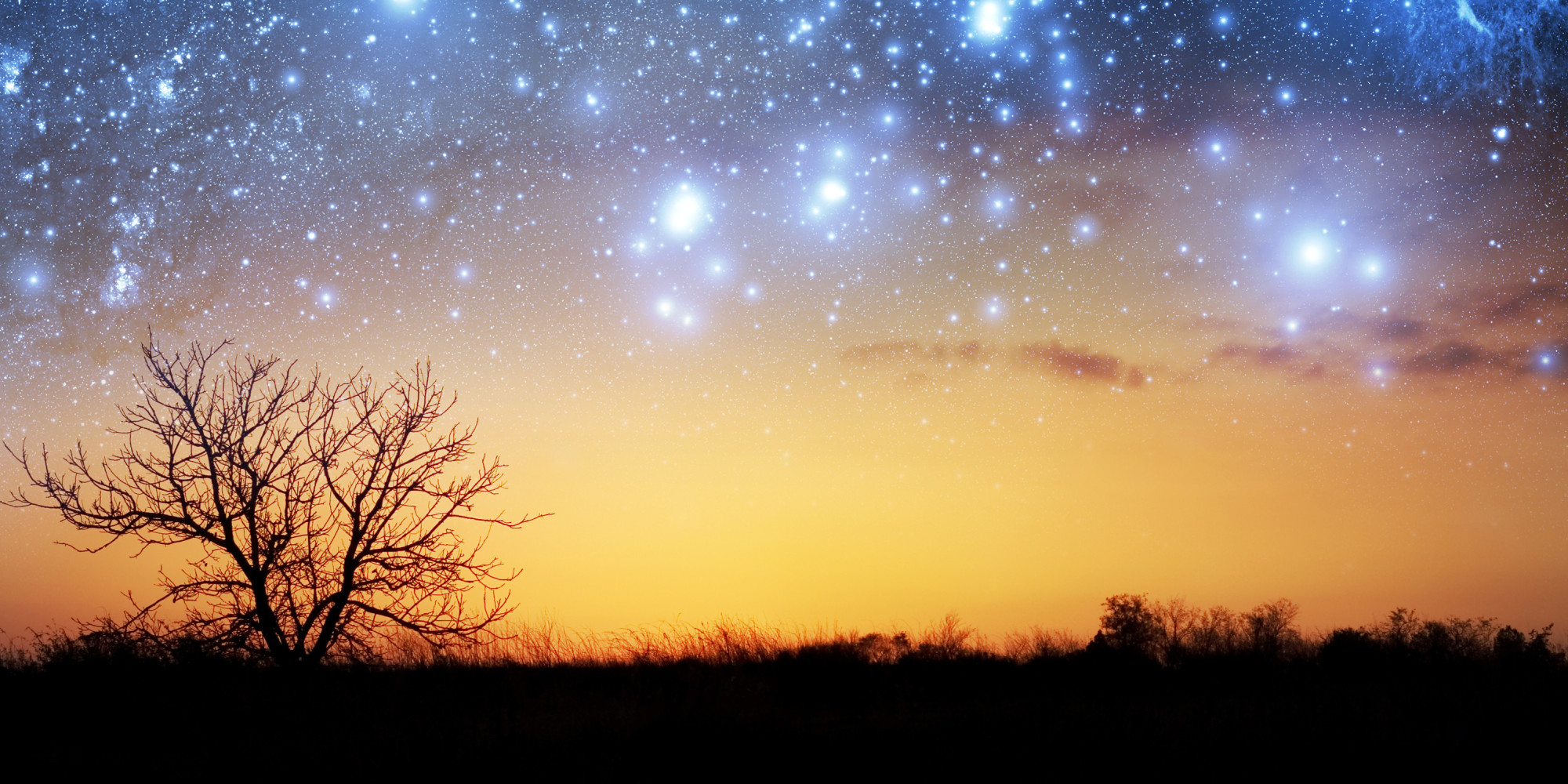 Falling Skies Wallpaper Featured Fifty Poetry Stars In The Early Morning Huffpost