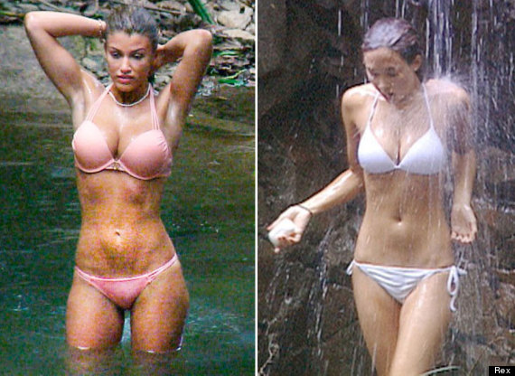 'i'm A Celebrity' Amy Willerton Has Her 'myleene Moment