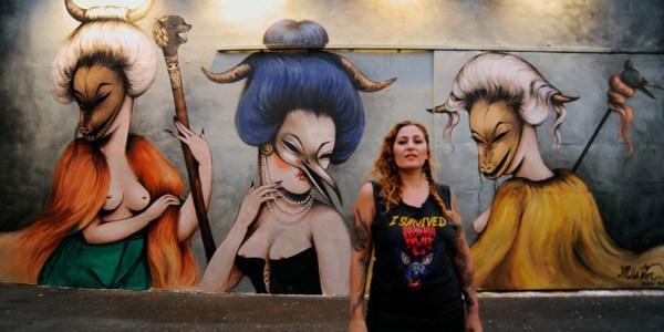 Women Rock Wynwood Walls Miami Art Basel 2013 Huffpost