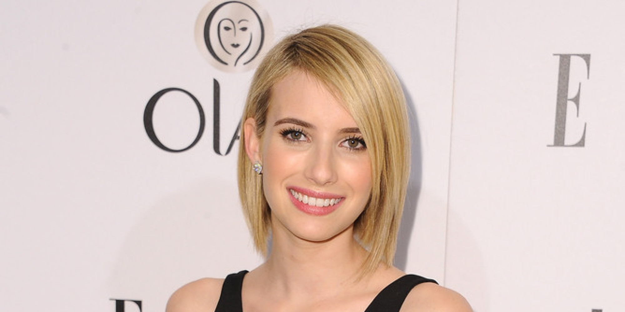 Emma Roberts Debuts Sleek Shorter Haircut HuffPost