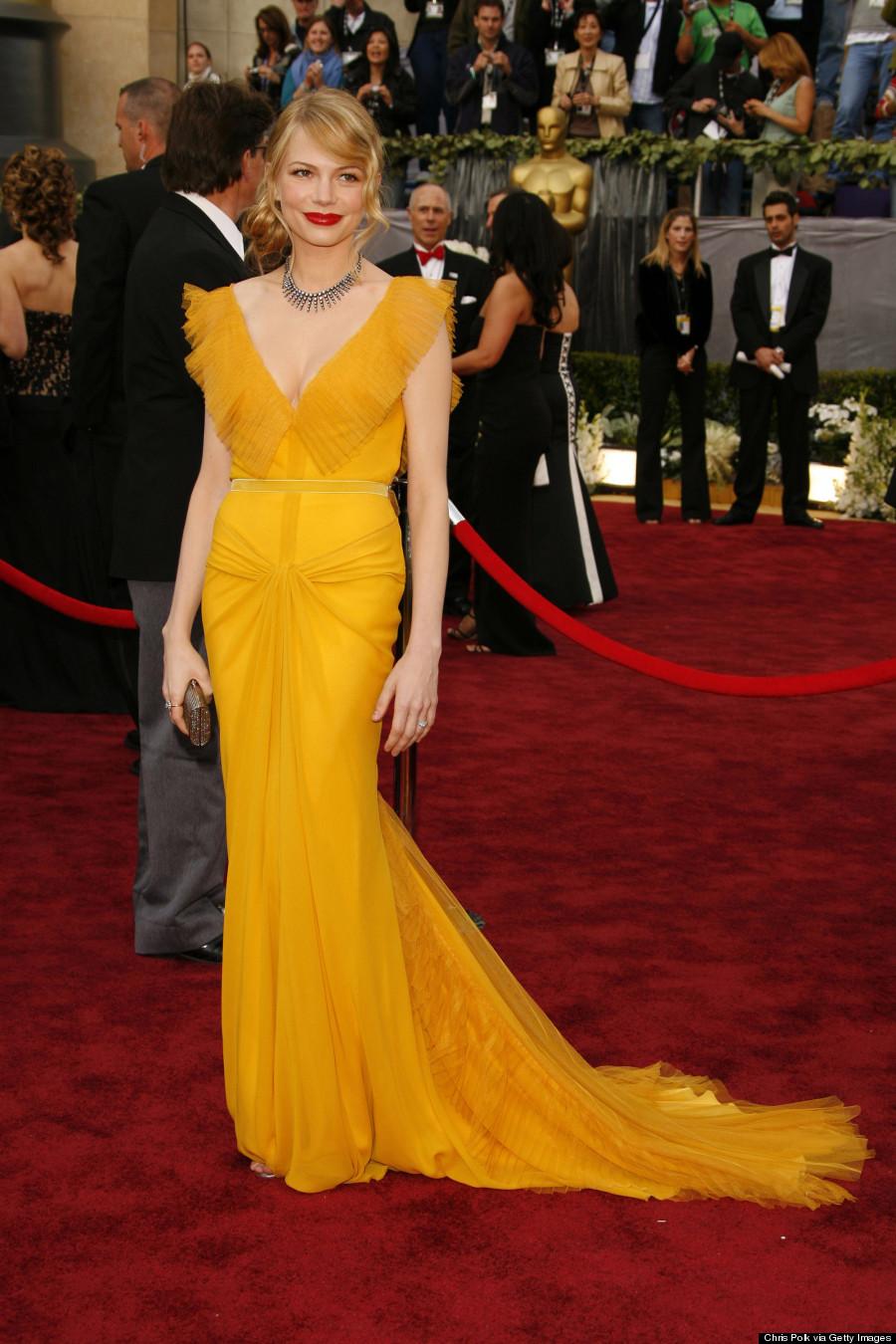 Michelle Williams Yellow Dress