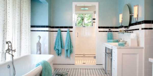 Gorgeous Black And White Bathrooms Huffpost