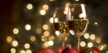 Christmas Wine Facebook Cover Photos