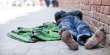 Barefoot Homeless People