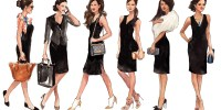 This Black Tie Dress Will Take You From The Boardroom To ...