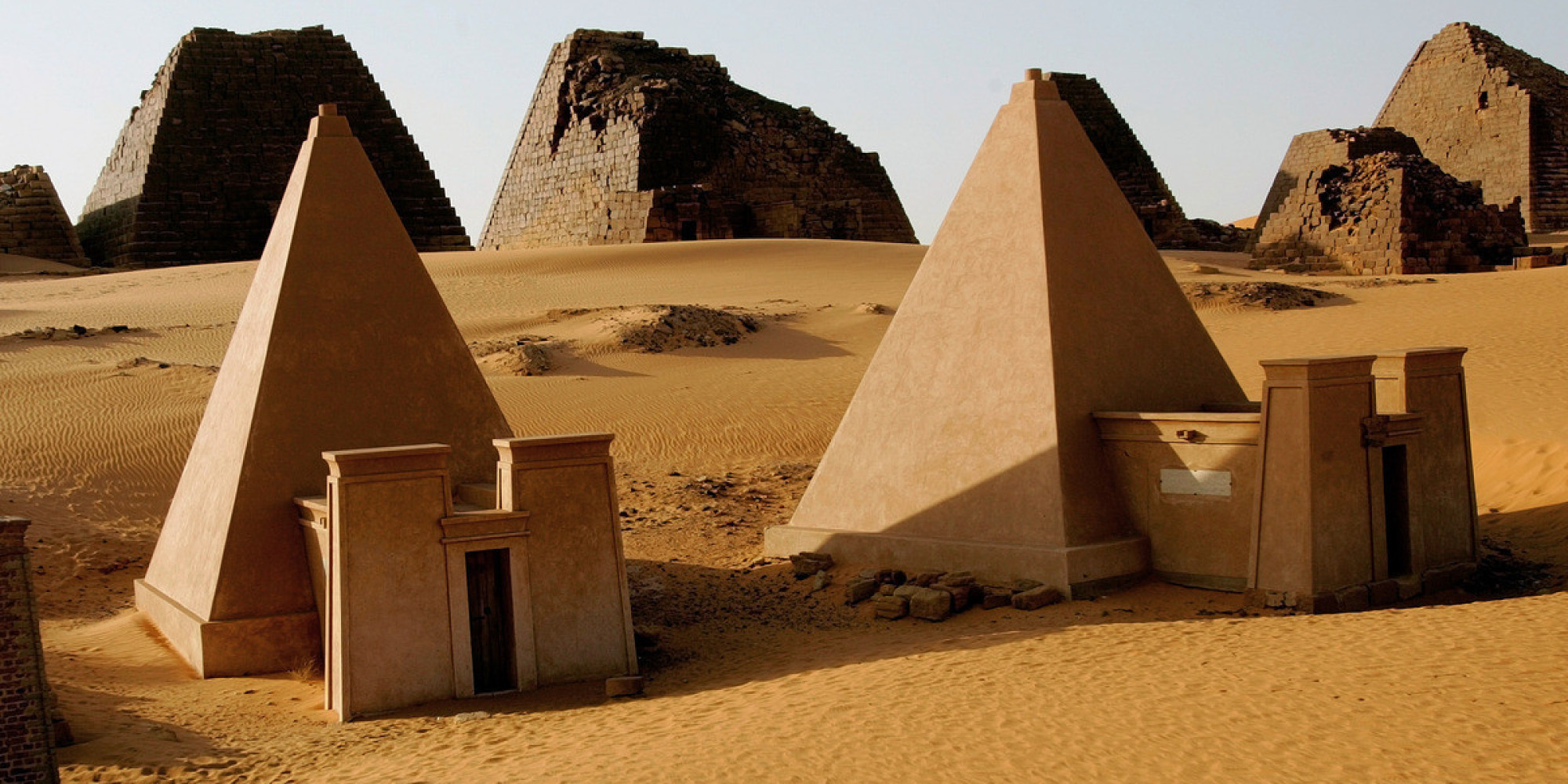 Sudan S Meroe Pyramids Are Just As Spectacular As The Ones