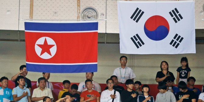 Image result for North South Koreans re-unified