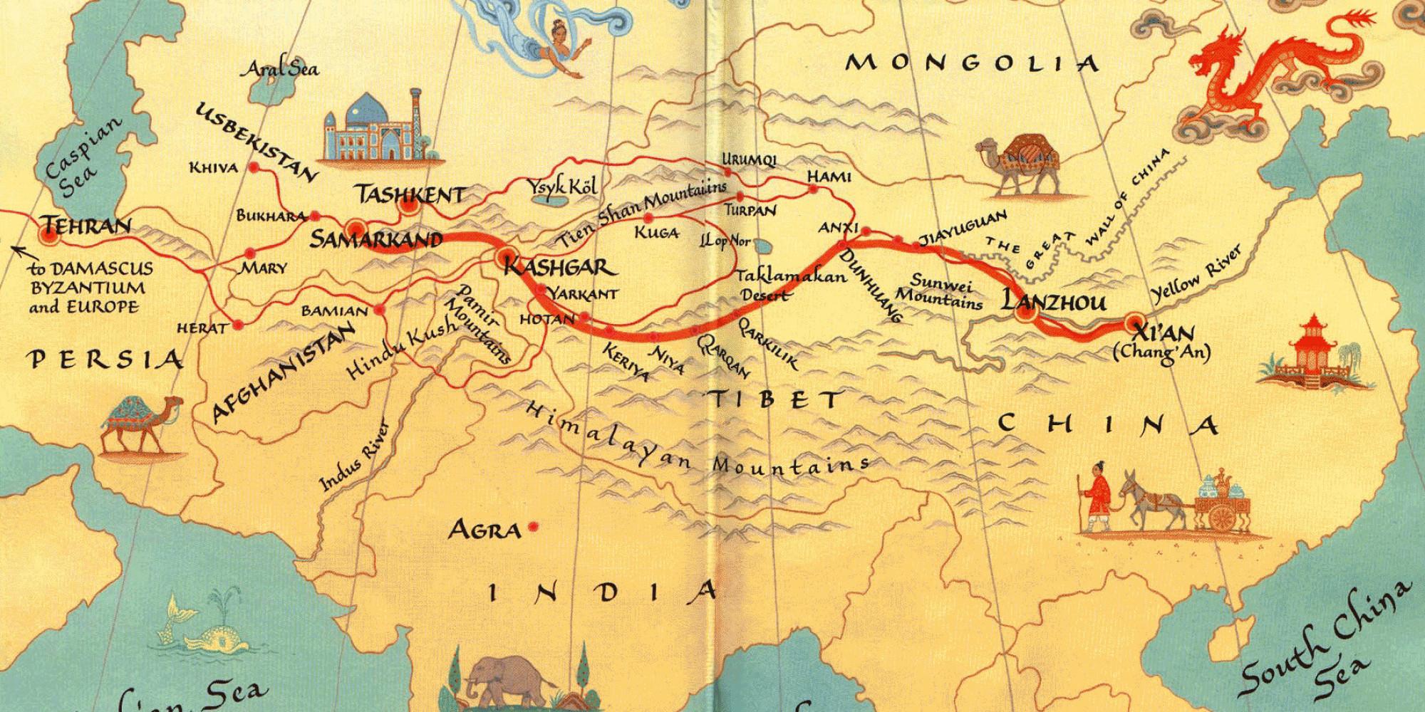 China S New Silk Road Promises Prosperity Across Eurasia
