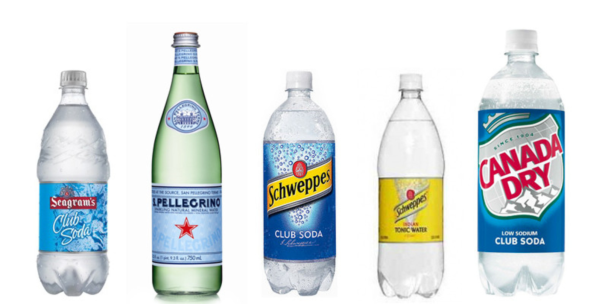 The Difference Between Club Soda Seltzer And Tonic Water ...