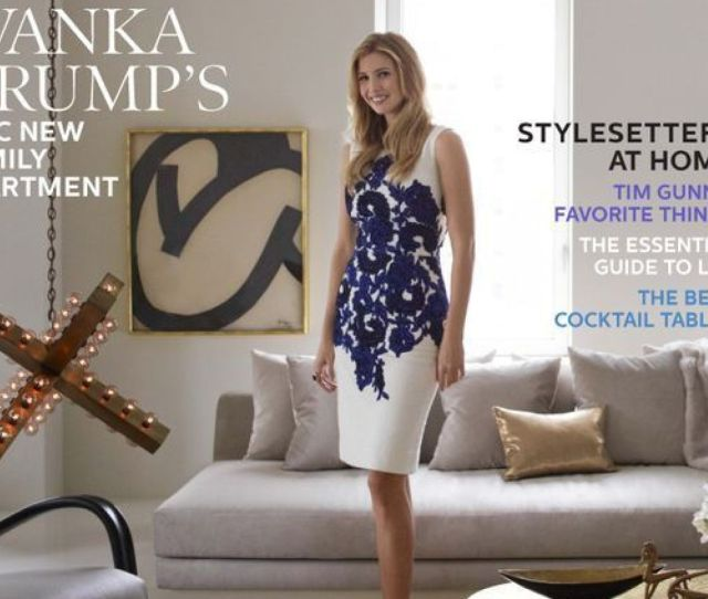 House Tour Ivanka Trumps Chic New York Apartment Featured In Elle Decor October 2012 Photos Huffpost
