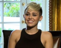 Miley Cyrus' Short Hair Stay '