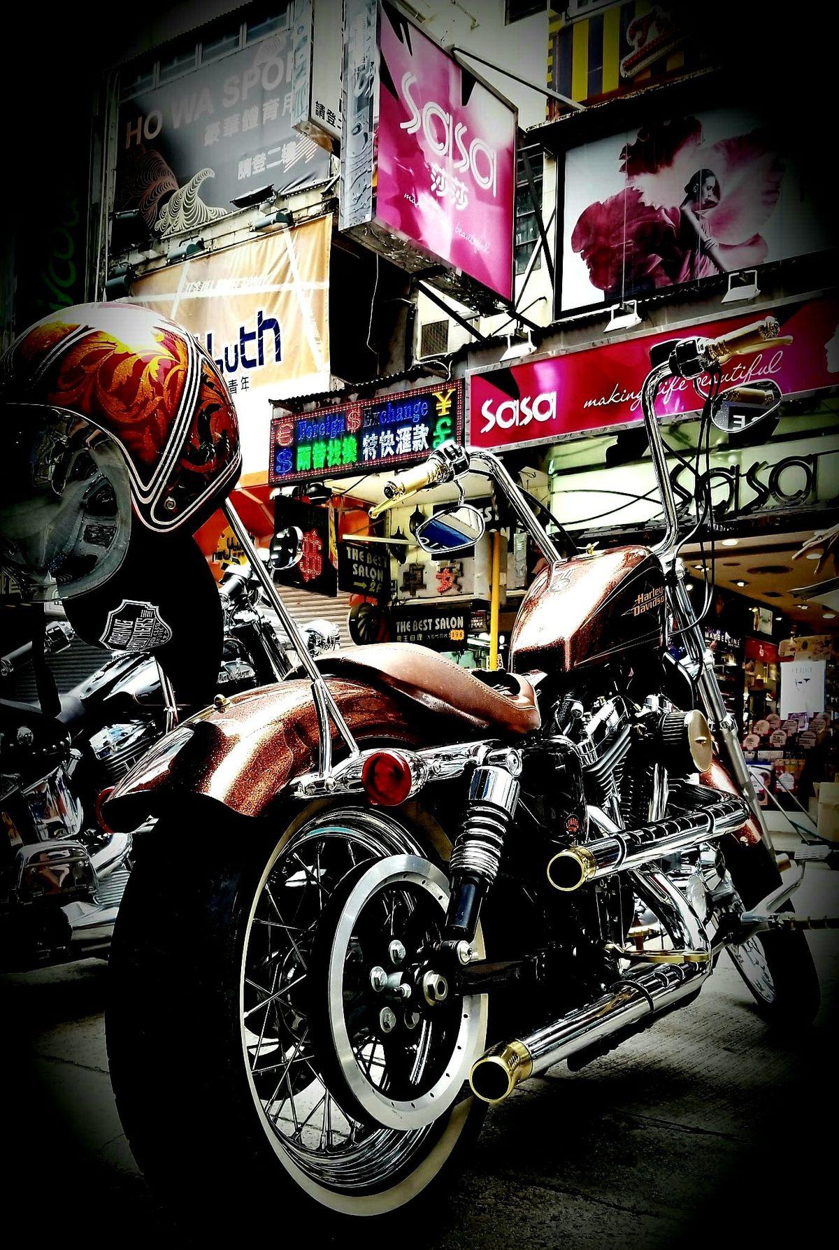 Granville Road . Hong Kong   Granville. Bike. Sasa