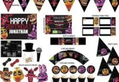 Fnaf Birthday Party Ideas