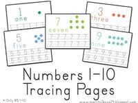 1000+ images about Preschool number worksheets on