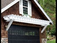 32 Best Images About Pergola Garage And Windows On
