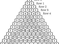 17 Best images about Pascal's Triangle on Pinterest
