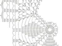 1000+ images about Crochet square dollies diagrams on
