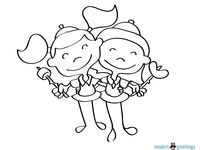 23 best images about Girl Scout Coloring Pages on Pinterest