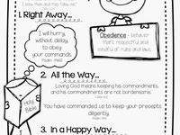 17 Best images about Teaching Obedience Homeschooling Unit