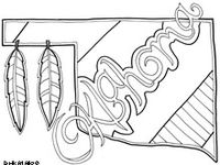 11 best images about Oklahoma coloring sheets on Pinterest