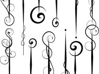 15 best images about pinstripes and scrolls on Pinterest