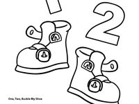 7 Best images about Prek/K- 1,2 buckle my shoe on