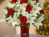 90 Best Images About Red And White Flowers On Pinterest White Roses Vase And Red Centerpieces
