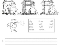 17 Best images about T Three Little Pigs on Pinterest