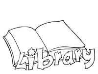 8 best images about library themed coloring pages and