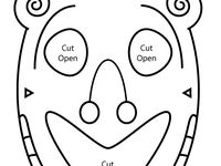 8 best Teaching: Masks and Mask Templates images on Pinterest