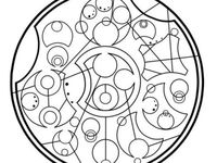 76 best images about Coloring Pages/LineArt Doctor Who on