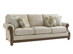 Elite Furniture Gallery NC Furniture Tommy Bahama Home Lexington Home Brands Koko Leather Sofa