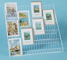 Diy cardboard greeting card display poemsrom lightweight collapsible greeting card display stand m4hsunfo