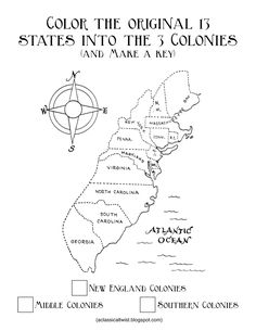 Southern Colonies Coloring Pages Sketch Coloring Page