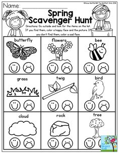 1000+ ideas about Preschool Scavenger Hunt on Pinterest
