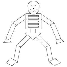 Shake Them Skeleton Bones Worksheet for kidsWhile the